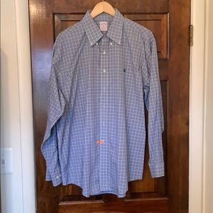 Brooks brothers XL checked button down